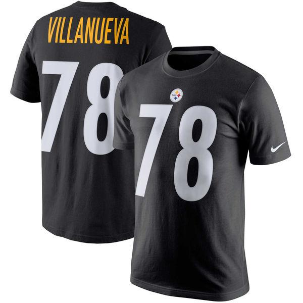 NFL スティーラーズ アレハンドロ・ヴィジャヌエヴァ プレイヤー プライド ネーム&ナンバー Tシャツ ナイキ/Nike