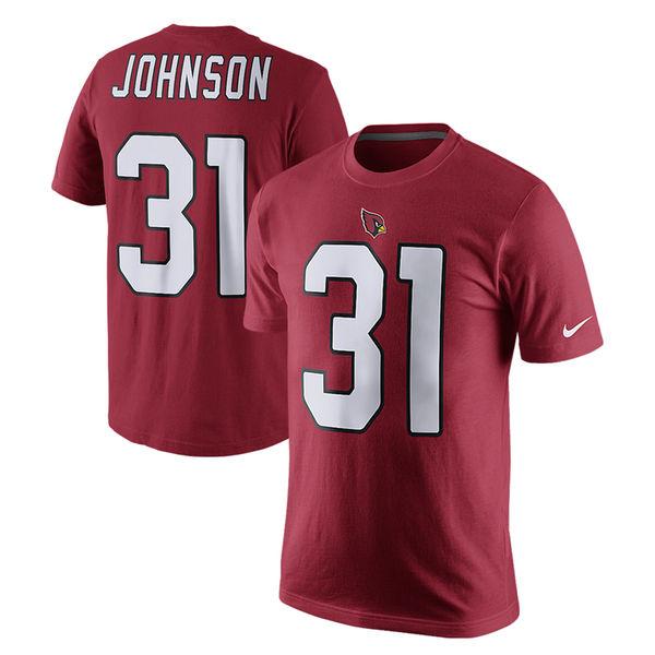 NFL カーディナルス デイビット・ジョンソン プレイヤー プライド ネーム&ナンバー Tシャツ ナイキ/Nike