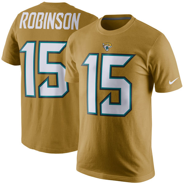 NFL ジャガーズ アレン・ロビンソン プレイヤー プライド ネーム&ナンバー Tシャツ ナイキ/Nike