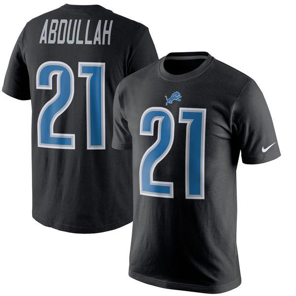 NFL ライオンズ アミール・アブドゥラー プレイヤー プライド ネーム&ナンバー Tシャツ ナイキ/Nike