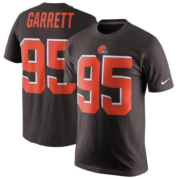 NFL ブラウンズ マイルズ・ギャレット プレイヤー プライド ネーム&ナンバー Tシャツ ナイキ/Nike