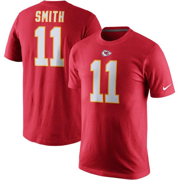 NFL チーフス アレックス・スミス プレイヤー プライド ネーム&ナンバー Tシャツ ナイキ/Nike