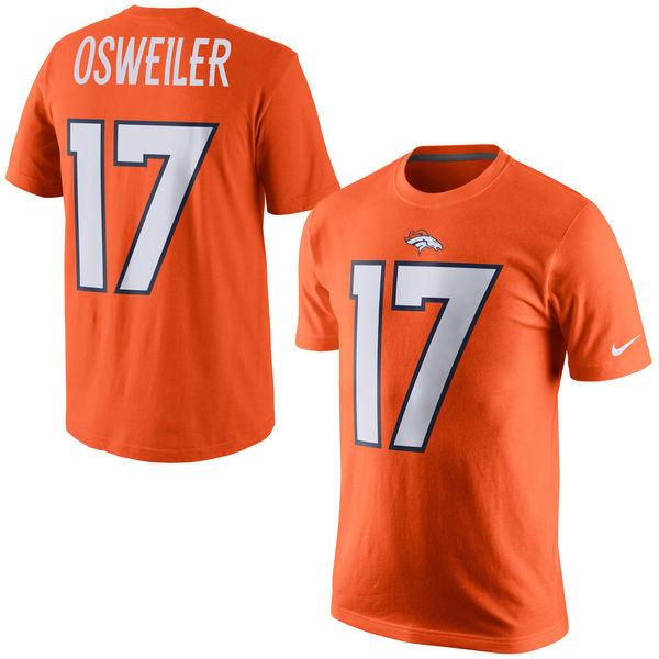 NFL ブロンコス ブロック・オズワイラー プレイヤー プライド ネーム&ナンバー Tシャツ ナイキ/Nike