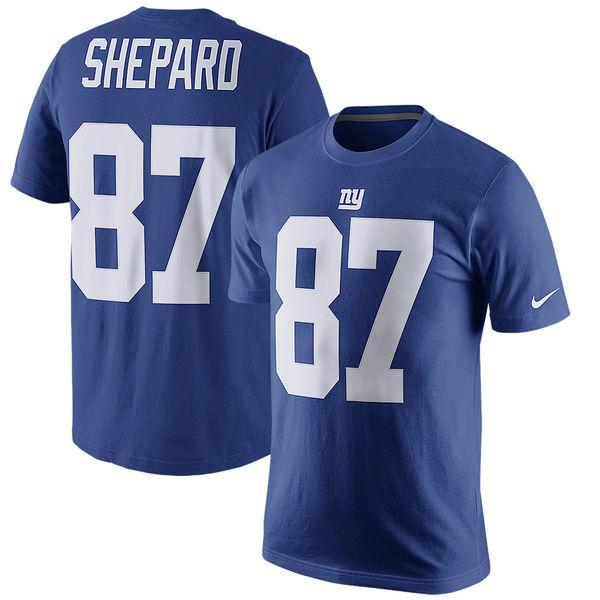 NFL ジャイアンツ スターリング・シェパード プレイヤー プライド ネーム&ナンバー Tシャツ ナイキ/Nike