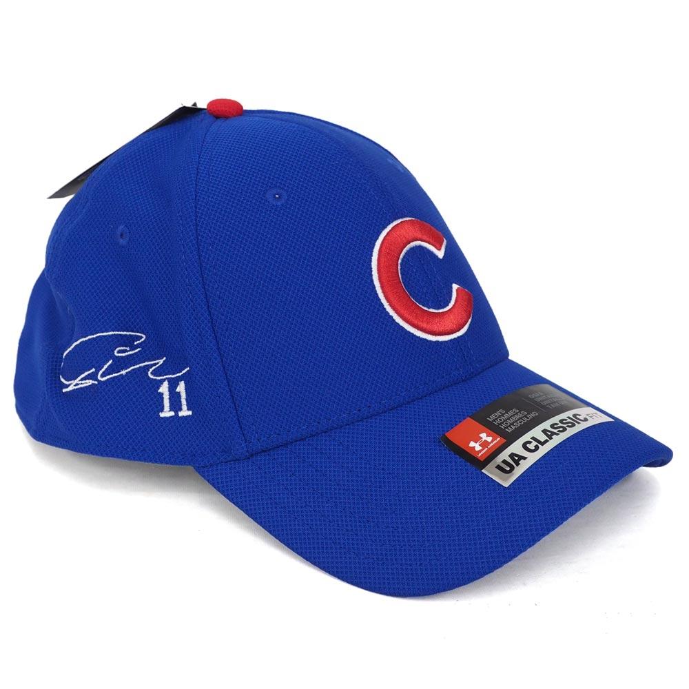 MLB カブス ダルビッシュ有 サイン刺繍 カスタム キャップ/帽子 アンダーアーマー/UNDER ARMOUR