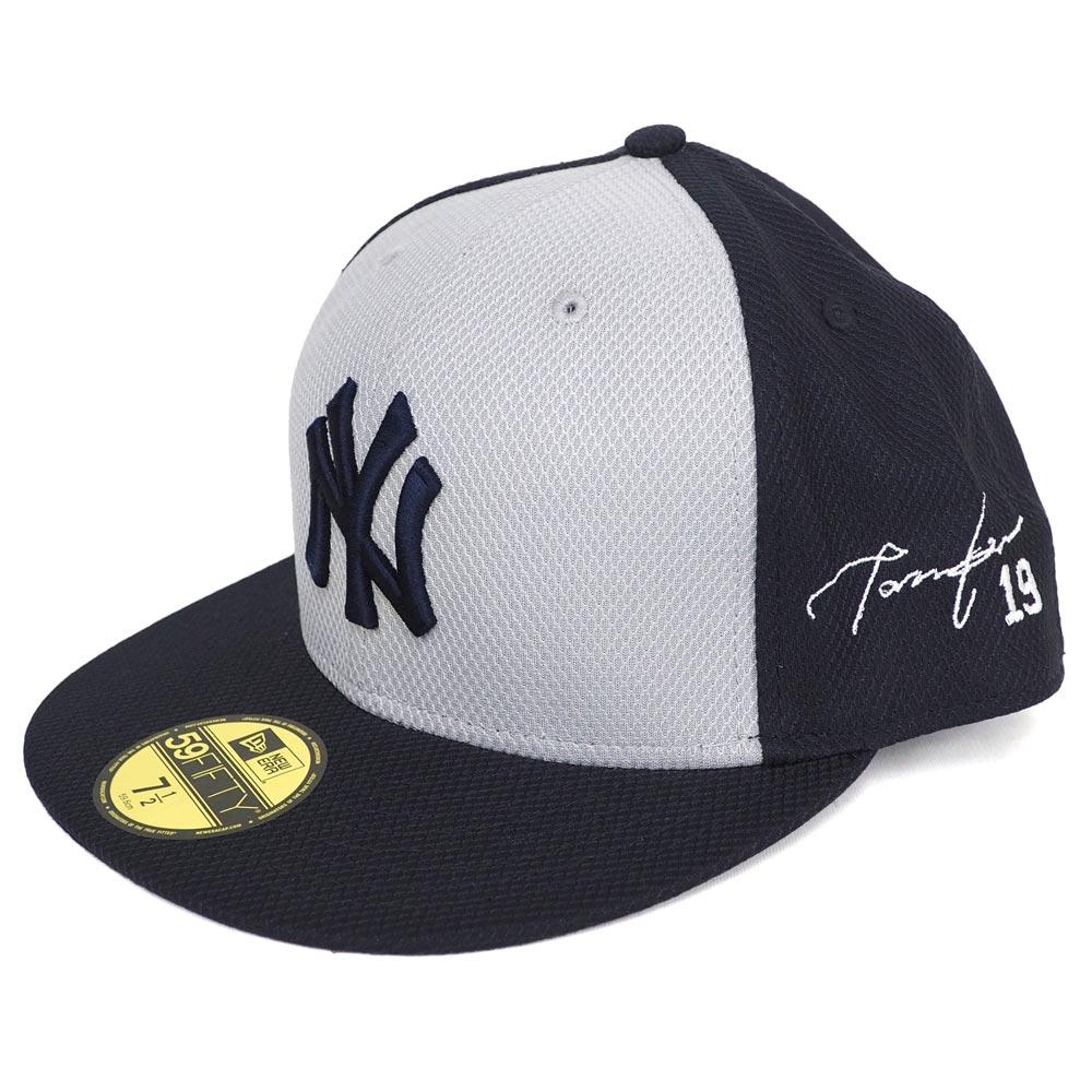 MLB ヤンキース 田中将大 サイン刺繍 キャップ/帽子 オーセンティック ニューエラ/New Era ゲーム