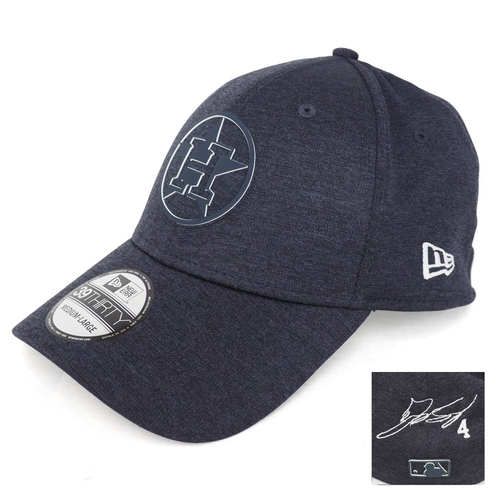 MLB アストロズ ジョージ・スプリンガー サイン刺繍 キャップ/帽子 クラブハウス ニューエラ/New Era