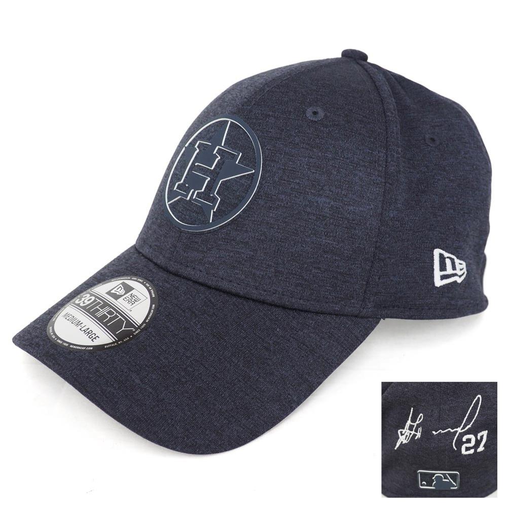 MLB アストロズ ホセ・アルトゥーベ サイン刺繍 キャップ/帽子 クラブハウス ニューエラ/New Era