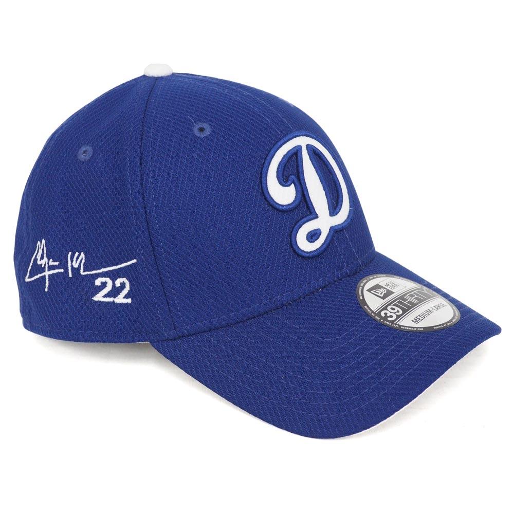 MLB ドジャース クレイトン・カーショー サイン刺繍 キャップ/帽子 フレックス ニューエラ/New Era ゲーム