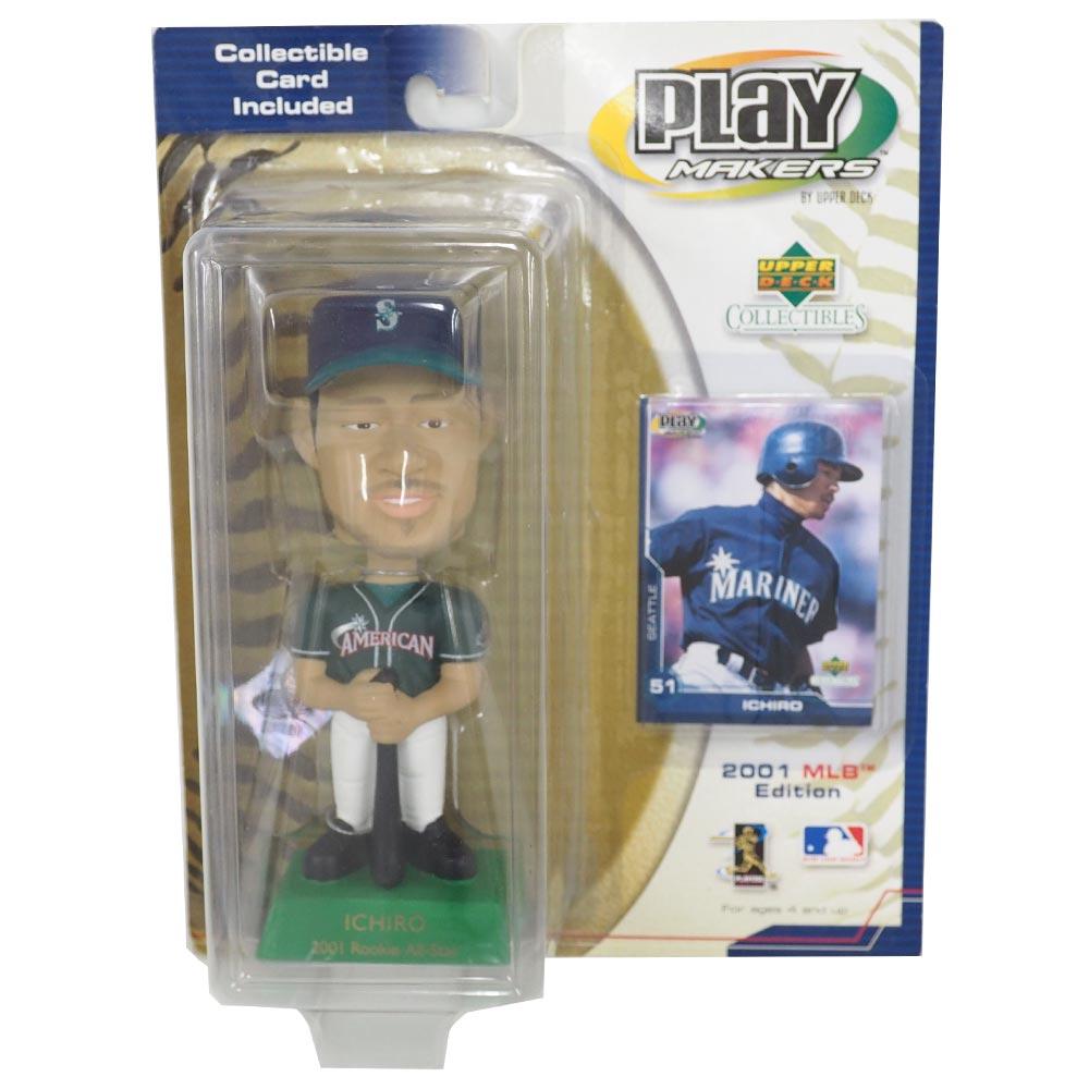 MLB マリナーズ イチロー ボブルヘッド/フィギュア 2001 オールスターゲーム アッパーデック/Upper Deck レアアイテム