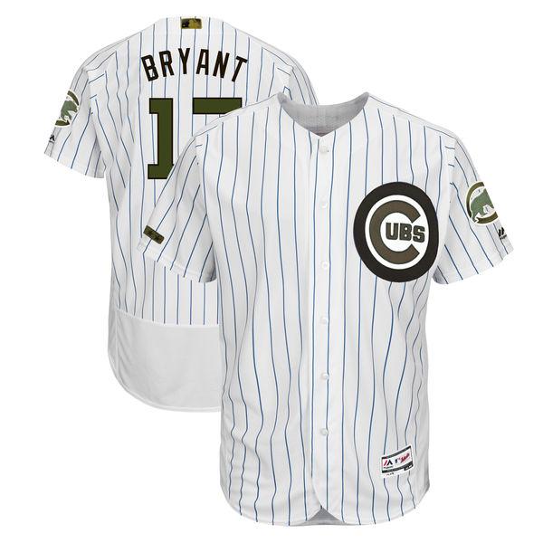 お取り寄せ MLB カブス クリス・ブライアント 2018 メモリアルデー 選手着用モデル ユニフォーム マジェスティック/Majestic