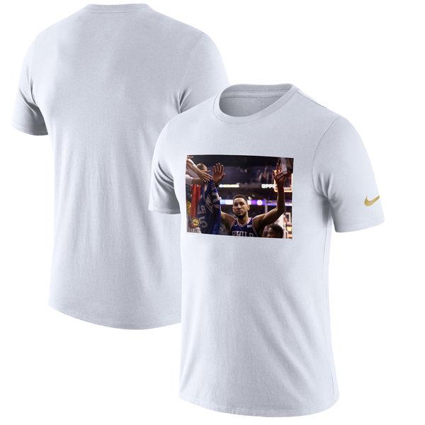 お取り寄せ NBA 76ers ベン・シモンズ プレイヤー パフォーマンス Tシャツ ナイキ/Nike