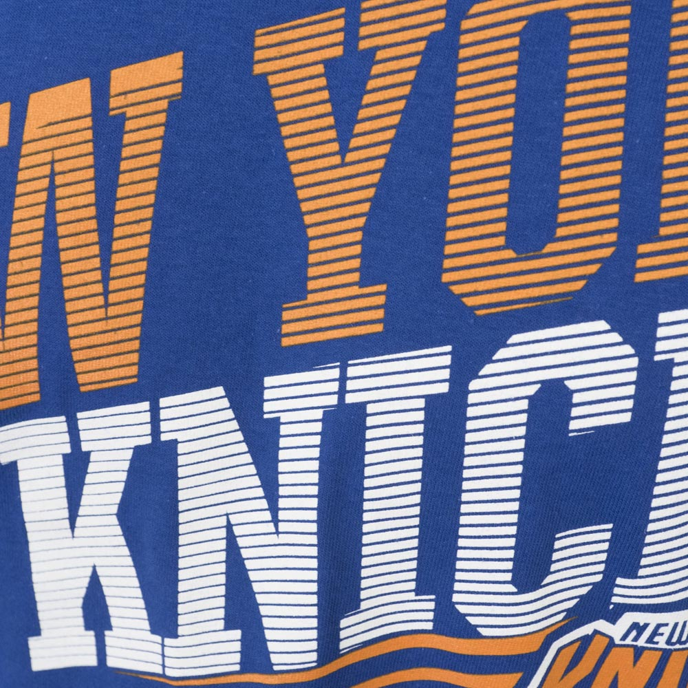 8a6479bd6 MLB NBA NFL Goods Shop  NBA Knicks T-shirt short sleeves word mark ...