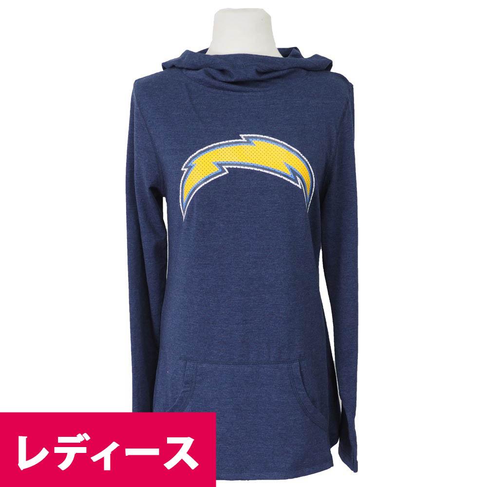 NFL チャージャーズ レディース パーカー/フーディー グレート プレイフッド 47 Brand ネイビー, FlowerKitchenJIYUGAOKA:64adb506 --- maff.jp