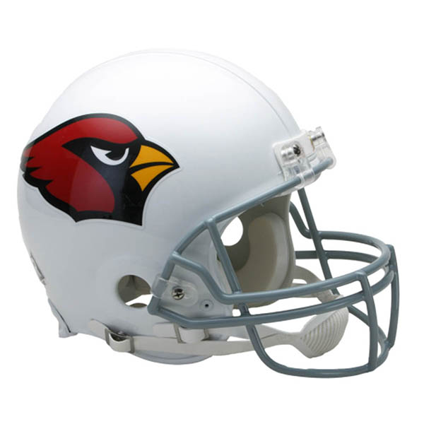 NFL カーディナルス オーセンティック ヘルメット 選手着用 VSR4 リデル/Riddell