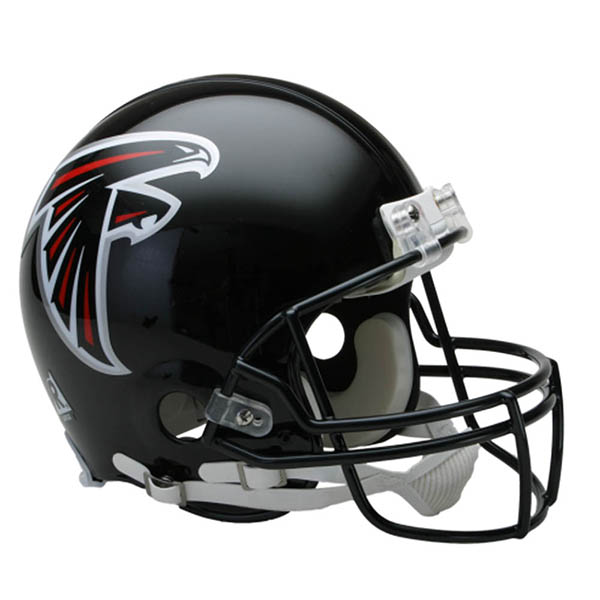 NFL ファルコンズ オーセンティック ヘルメット 選手着用 VSR4 リデル/Riddell