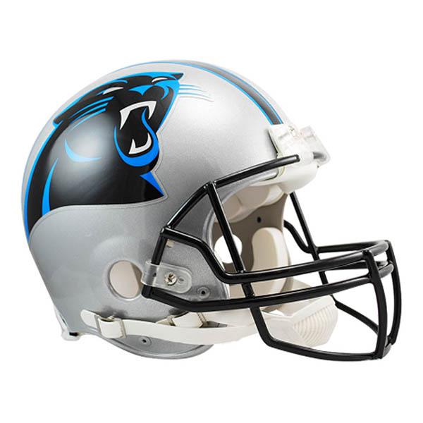 NFL パンサーズ オーセンティック ヘルメット 選手着用 VSR4 リデル/Riddell