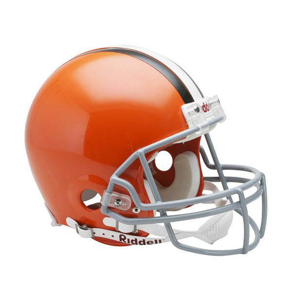 NFL ブラウンズ オーセンティック ヘルメット 選手着用 VSR4 リデル/Riddell