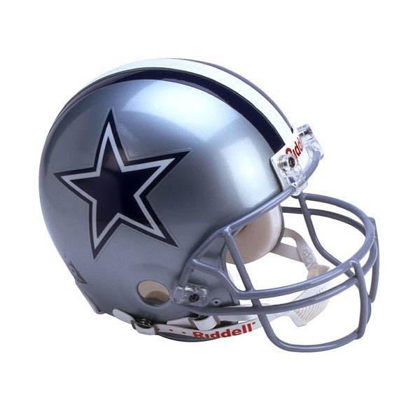 NFL カウボーイズ オーセンティック ヘルメット 選手着用 VSR4 リデル/Riddell