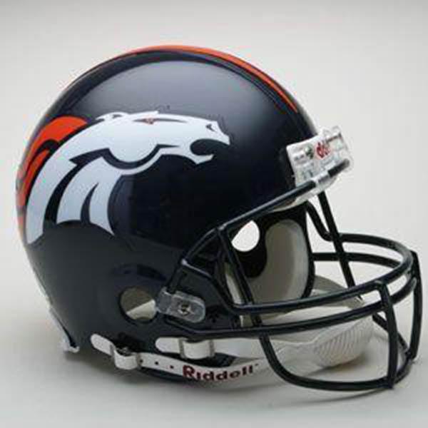 NFL ブロンコス オーセンティック ヘルメット 選手着用 VSR4 リデル/Riddell