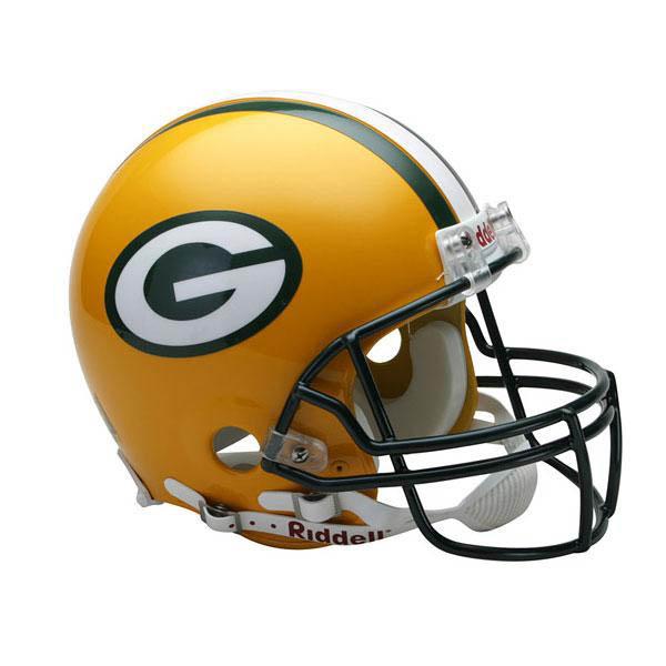 NFL パッカーズ オーセンティック ヘルメット 選手着用 VSR4 リデル/Riddell
