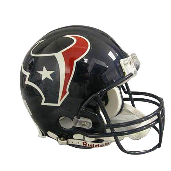 NFL テキサンズ オーセンティック ヘルメット 選手着用 VSR4 リデル/Riddell