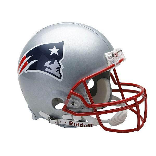 NFL ペイトリオッツ オーセンティック ヘルメット 選手着用 VSR4 リデル/Riddell