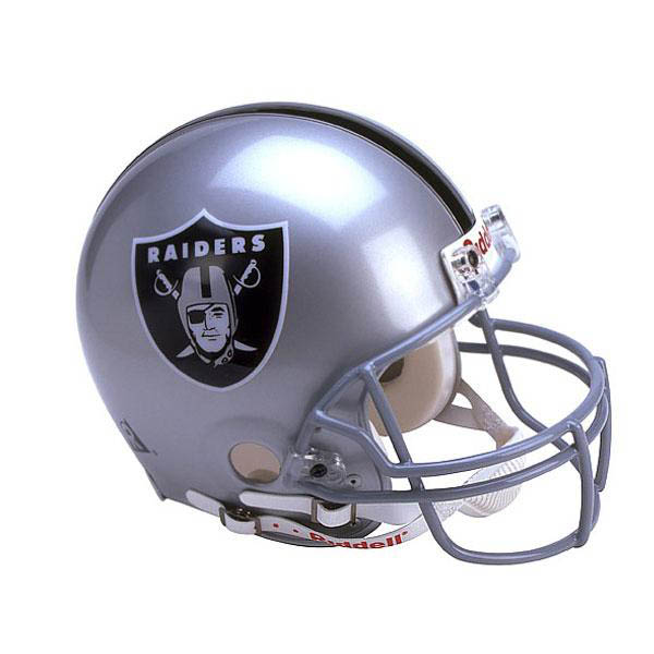 NFL レイダース オーセンティック ヘルメット 選手着用 VSR4 リデル/Riddell