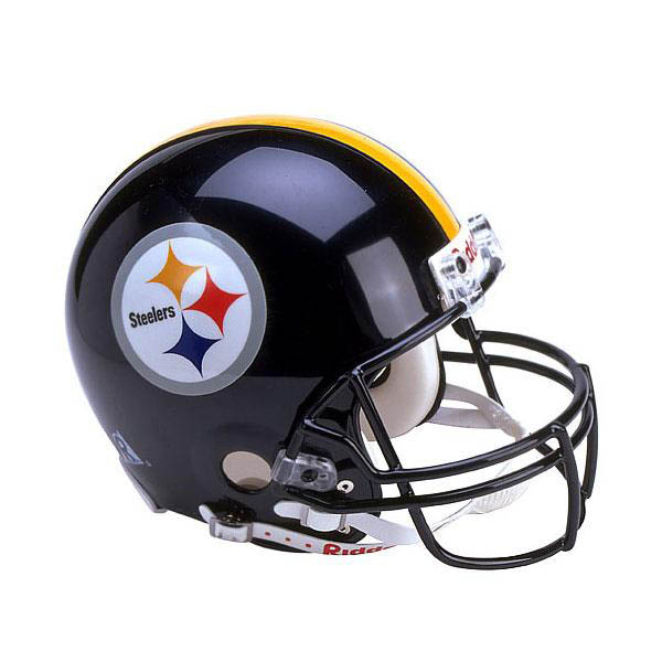 NFL スティーラーズ オーセンティック ヘルメット 選手着用 VSR4 リデル/Riddell