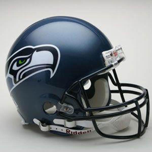 NFL シーホークス オーセンティック ヘルメット 選手着用 VSR4 リデル/Riddell