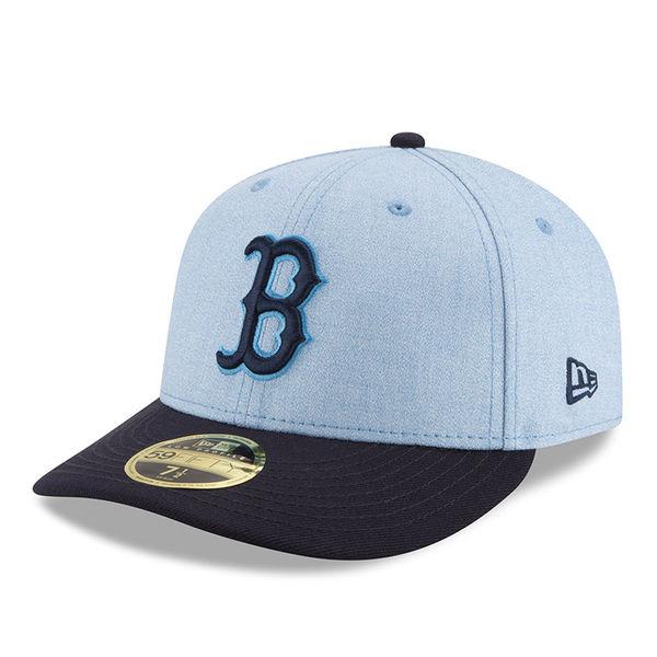 お取り寄せ MLB レッドソックス 選手着用 キャップ/帽子 2018 ファザーズデイ ロープロファイル ニューエラ/New Era