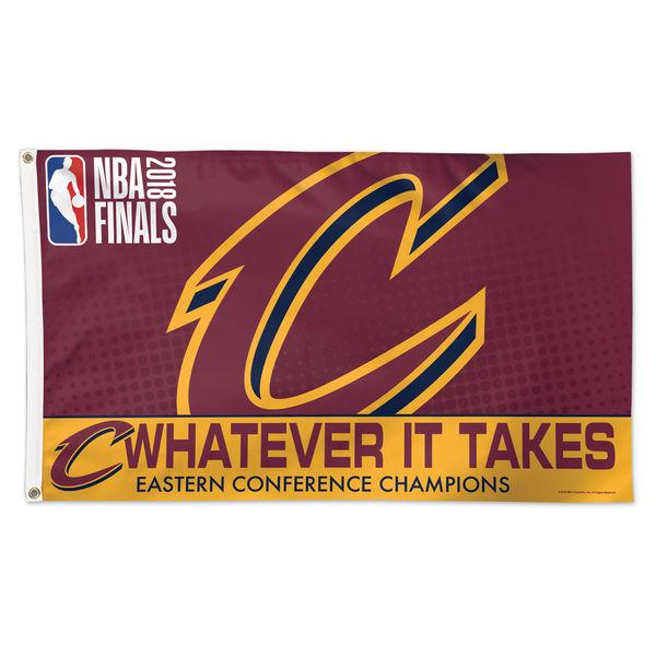 お取り寄せ NBA キャバリアーズ 2018 イースタン カンファレンス チャンピオン フラッグ ウィンクラフト/WinCraft