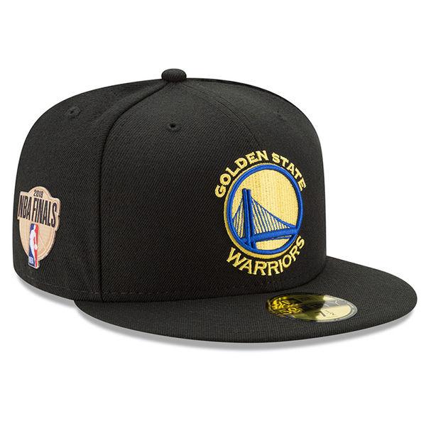 お取り寄せ NBA ウォリアーズ 2018 ウェスタン カンファレンス チャンピオン 59FIFTY キャップ ニューエラ/New Era ブラック