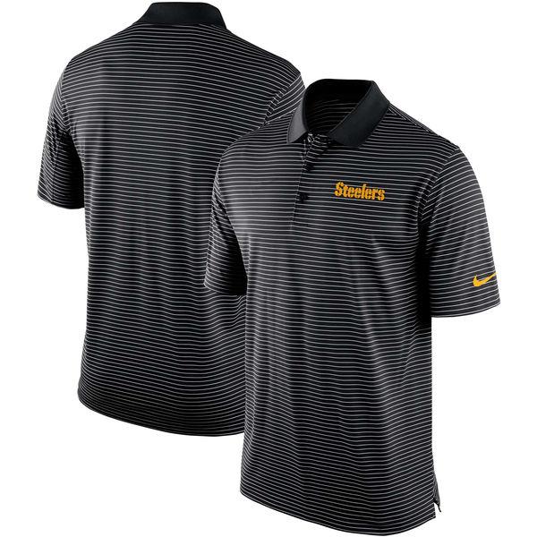 NFL スティーラーズ チーム スタジアム パフォーマンス ポロシャツ ナイキ/Nike ブラック