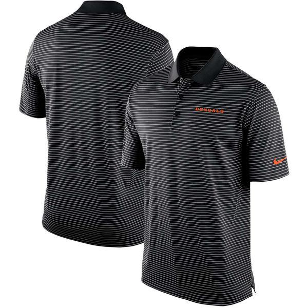 NFL ベンガルズ チーム スタジアム パフォーマンス ポロシャツ ナイキ/Nike ブラック