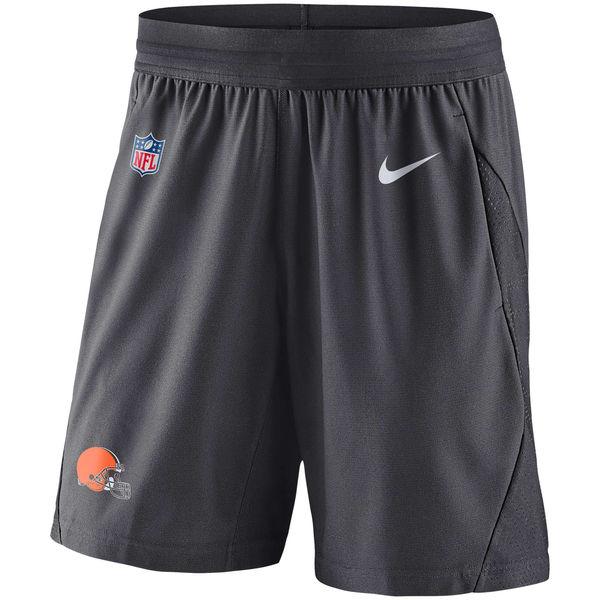 NFL ブラウンズ サイドライン フライ ニット ショーツ ナイキ/Nike チャコール