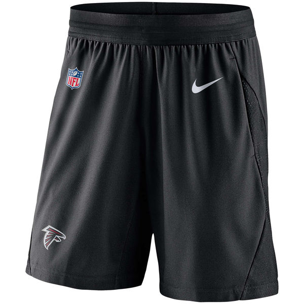 お取り寄せ NFL ファルコンズ サイドライン フライ ニット ショーツ ナイキ/Nike ブラック