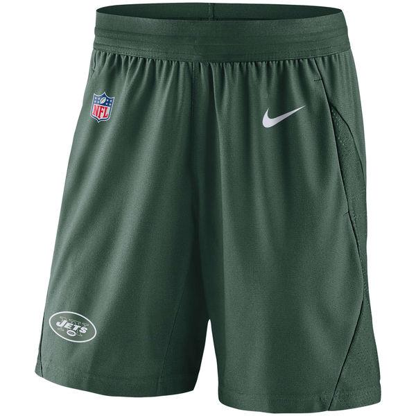 NFL ジェッツ サイドライン フライ ニット ショーツ ナイキ/Nike グリーン