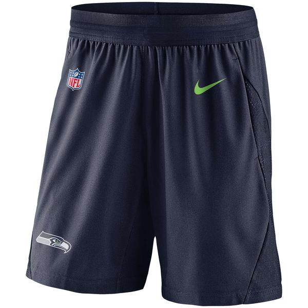 お取り寄せ NFL シーホークス サイドライン フライ ニット ショーツ ナイキ/Nike カレッジネイビー
