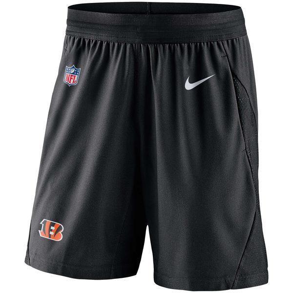 お取り寄せ NFL ベンガルズ サイドライン フライ ニット ショーツ ナイキ/Nike ブラック