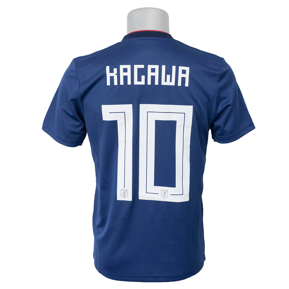 SOCCER soccer representative from Japan Kagawa  10 2018 replica uniform  short sleeves Adidas  Adidas home bbb0ff58d