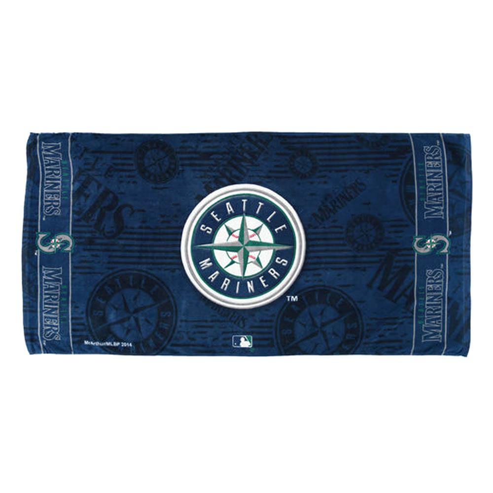 MLB マリナーズ ファイバー ビーチタオル McArthur【1910価格変更】