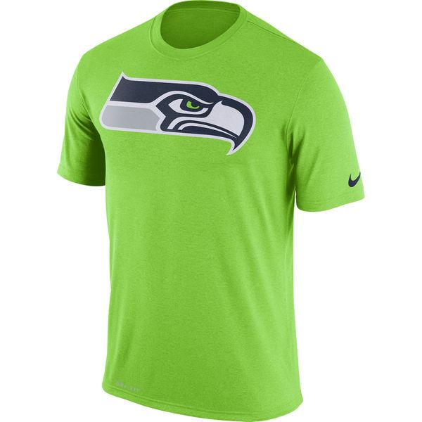 NFL シーホークス レジェンド ドライフィット Tシャツ ナイキ/Nike ネオングリーン
