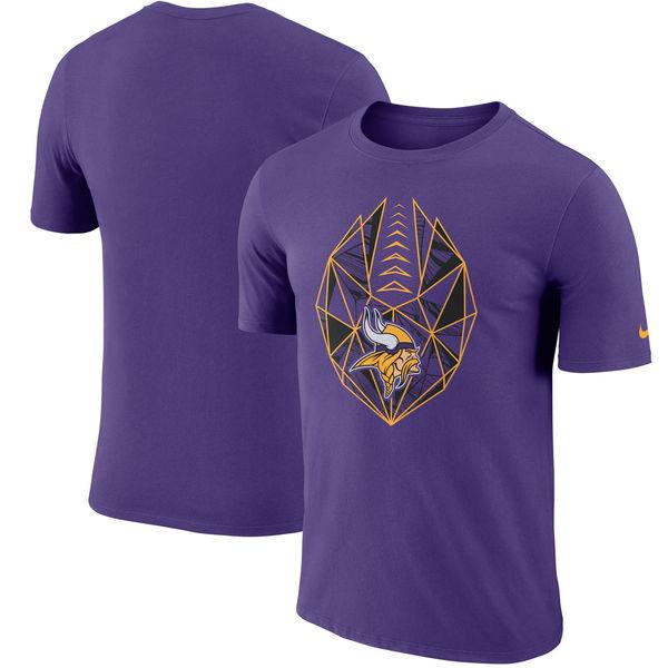 NFL バイキングス Tシャツ 半袖 アイコン ナイキ/Nike パープル