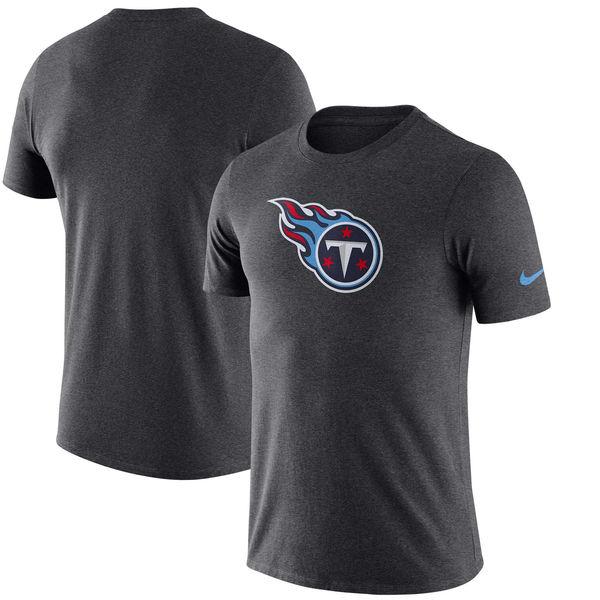NFL タイタンズ エッセンシャル ロゴ Tシャツ ナイキ/Nike ヘザーチャコール