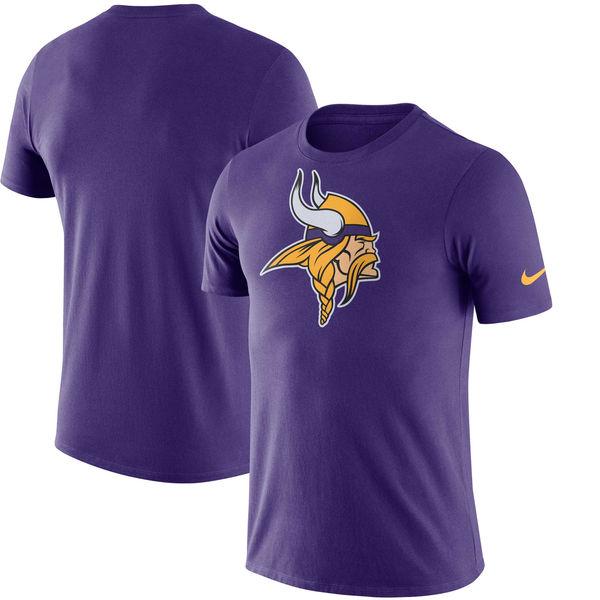 NFL バイキングス エッセンシャル ロゴ Tシャツ ナイキ/Nike パープル