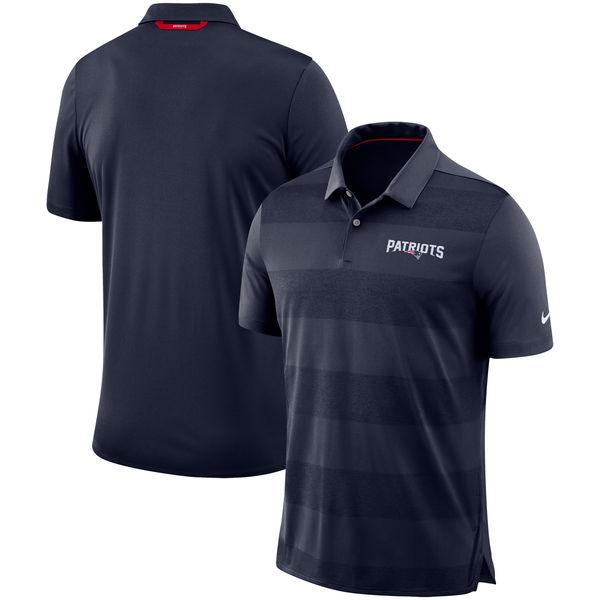 お取り寄せ NFL ペイトリオッツ サイドライン ポロシャツ ナイキ/Nike ネイビー