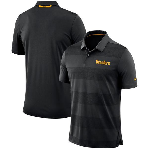 NFL スティーラーズ サイドライン ポロシャツ ナイキ/Nike ブラック