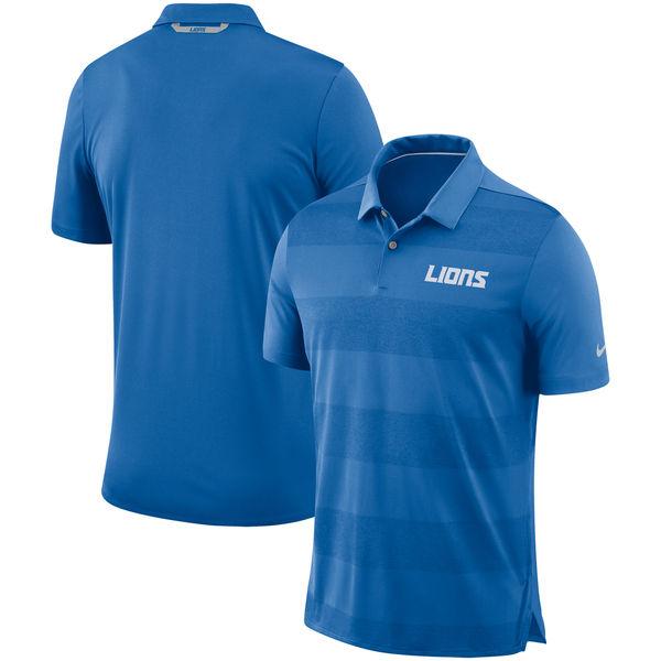 お取り寄せ NFL ライオンズ サイドライン ポロシャツ ナイキ/Nike ブルー