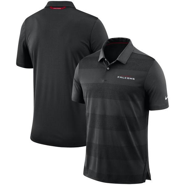 お取り寄せ NFL ファルコンズ サイドライン ポロシャツ ナイキ/Nike ブラック